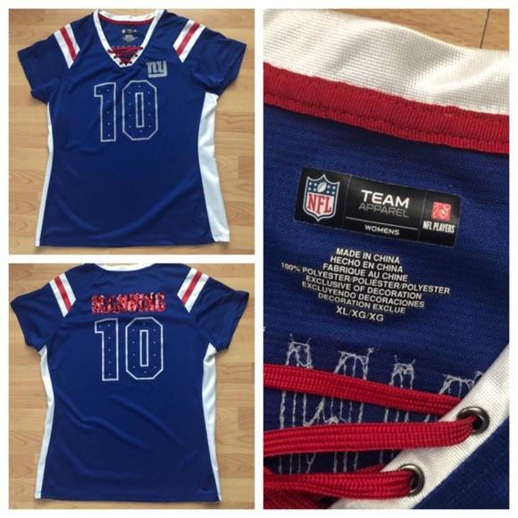 new arrival 76325 16eaa Eli Manning #10 NFL New York Giants Women's Jersey